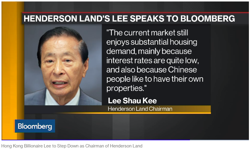 Henderson Land Chairman